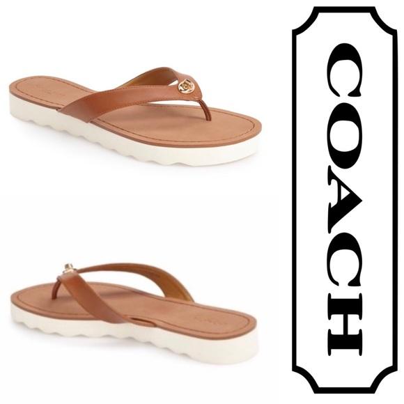 917c2e2aa0a3 Brand new Coach Shelly- Flip flop Sandals